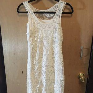 Lace Tanktop Dress